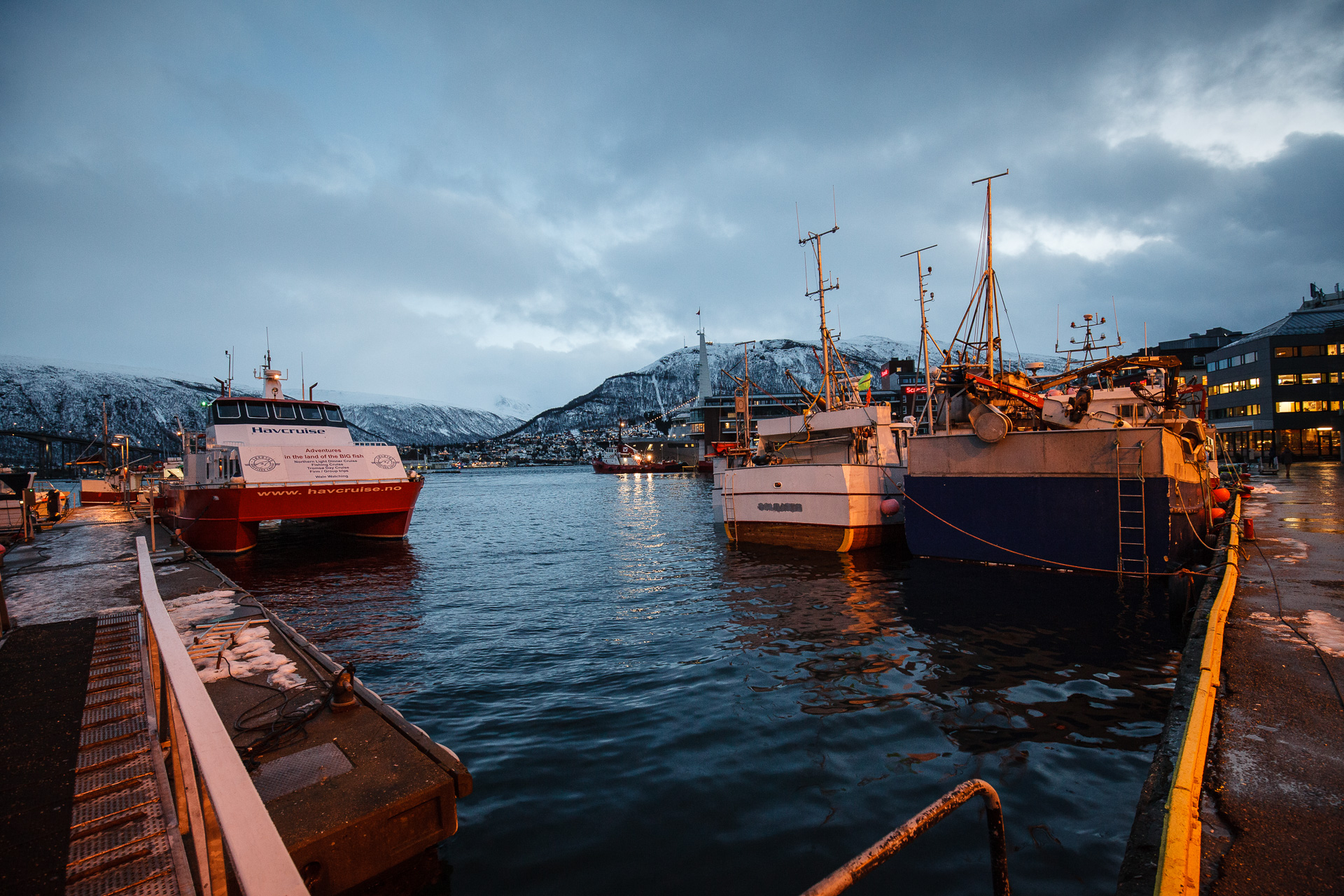 Part of Tromsö Harbor